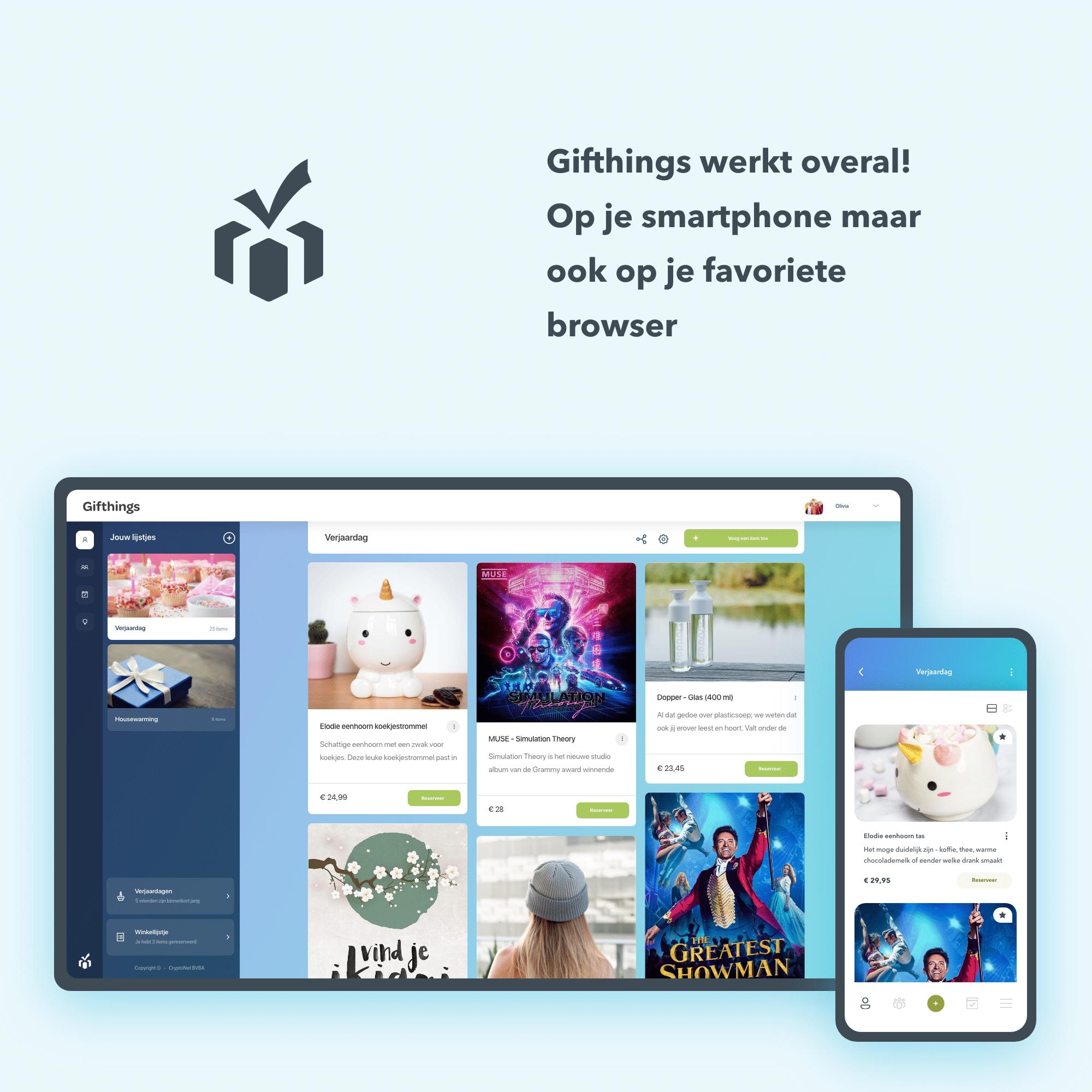 mediakit gifthings in de app store en op google play